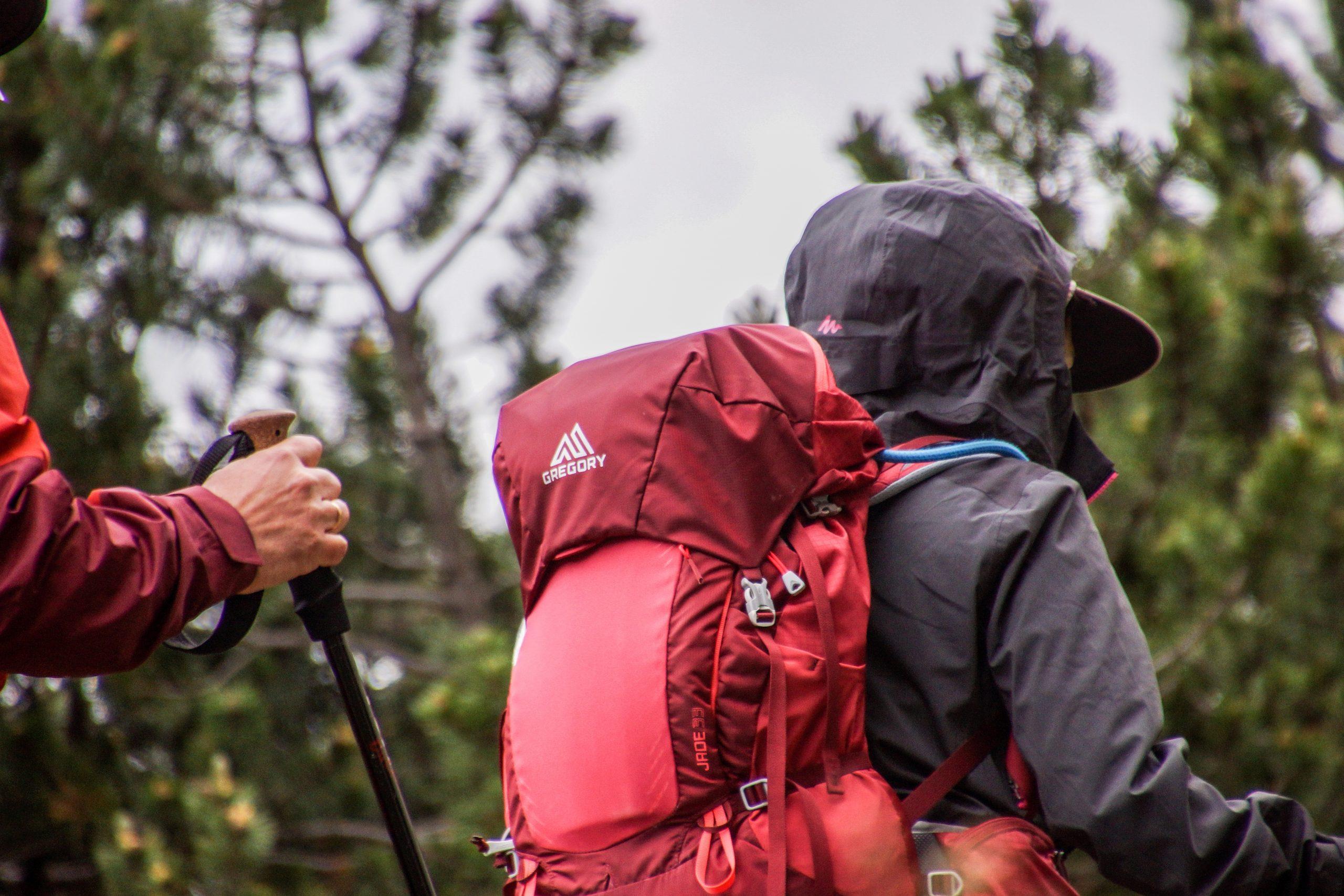 backpack, hiking, trekking